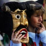 Kukeri festival scares away evil spirits: mayor of Bulgarian village