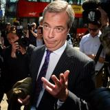 Picture: AFPNigel Farage says EU has 'bloody hands' over Ukraine crisis