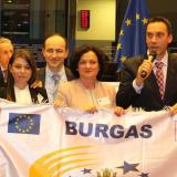 Bulgaria's Burgas officially declared European City of Sport in Brussels