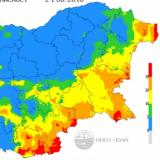 Red index for fire hazard declared in 4 districts on Wednesday