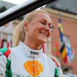 Ekaterina Stratieva won Rally Barum