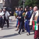 Bulgaria president, education minister joined May 24 rally