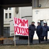 Crimea assembly chief says Ukraine military units to be 'disbanded'