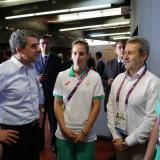 Bulgarian President congratulated Bulgarian volleyball team in Baku