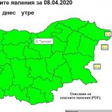 NIMH: Code Yellow warning of rough seas in place for Burgas coastal area