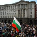 Protesters in Bulgaria capital attempt to remove metal barriers around Council of Ministers
