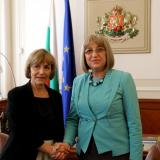 Bulgaria parliament chair meets with Croatia foreign minister
