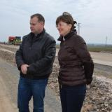 Bulgaria Deputy PM inspects Struma motorway construction