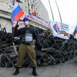 Kiev government must quit before rebels respect deal: pro-Russian leader