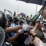Major road reopens after Hong Kong police clear protest site: AFP