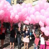 1,200 pink balloons to released to sky in Bulgaria's capital