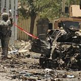 Three wounded as suicide bomber targets NATO forces in Kabul: officials