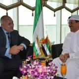 Bulgaria opposition leader meets with UAE Economy Minister