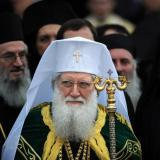 Bulgarian Patriarch serves mass at St Alexander Nevsky Cathedral
