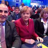 Bulgaria's CEDB leader holds meeting with Angela Merkel