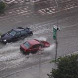Torrential rain, hailstorm paralyse traffic in Bulgaria's Pazardzhik