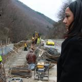 Bulgaria regional development minister inspects Predel Pass repair