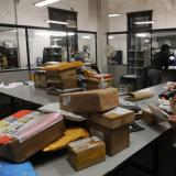 Picture: AFPAFP: Eight 'suspect' packages found at Athens sorting centre: police