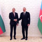 Picture: Прессекретариат на президентаPresident Rumen Radev in Baku: Bulgaria reaffirms its support for the Southern Gas Corridor