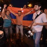 Armenian police dismantle energy protest barricades