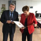 Bulgarian Culture Minister meets with Bulgarian ECVP Kristalina Georgieva in Brussels