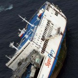 Picture: AFPTwo dead, scores missing as S. Korea ferry sinks