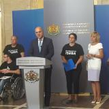 Minister Biser Petkov: On Monday we should have a new draft of amendments to the law on people with disabilities