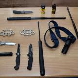 1,000 pupils caught with deadly weapons in three years: 80 were at primary school - including eight-year-old with a knife