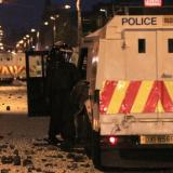 Bomb thrown at police in Northern Ireland