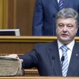 Crimea annexation is 'treachery,' Ukraine leader tells US