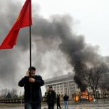 BBC: Explosion near Chinese embassy in Bishkek