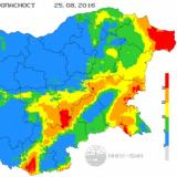 Red index for fire hazard declared in 5 districts on Thursday