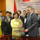 Bulgaria deputy minister inked protocol on 23rd session of Bulgarian-Vietnamese mixed commission