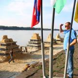 CEDB MP attends opening of 2nd sand sculpture festival in Bulgaria's Ruse
