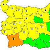 Picture: НИМХNIMH: Code Yellow warning for high temperatures in place for 15 Bulgarian regions, orange warning for Blagoevgrad region