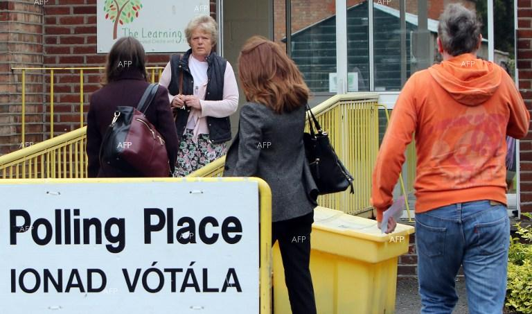Ireland votes in historic referendum on gay marriage.