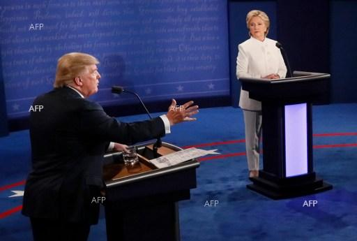 Third Clinton-Trump debate. October 20, 2016.