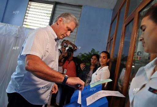 Cuba votes in elections for National Assembly. March 11, 2018;