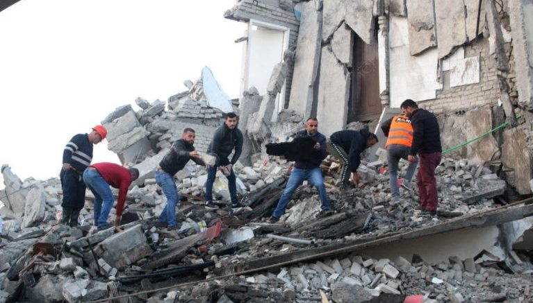 AFP: Almost 50 dead, more than 5,000 displaced in Albania quake