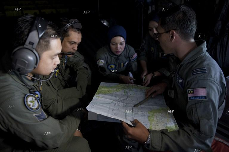 Search for missing Malaysian plane continues.