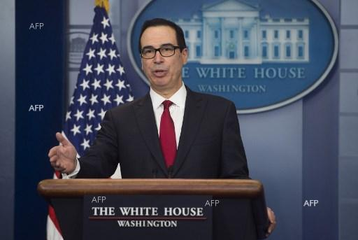 US Secretary of Treasury Steven Mnuchin said his country will soon impose sanctions on Iran - January 12, 2018;