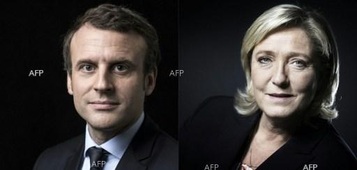 Emmanuel Macron and Marine Le Pen to fight for French presidency in second round of elections. April 24, 2017