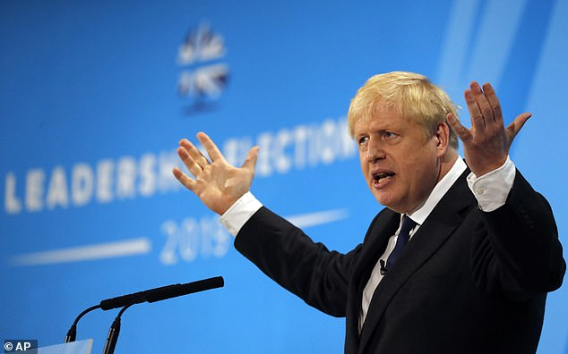 The new leader of the Conservative Party and British Prime Minister, Boris Johnson. July 23, 2019