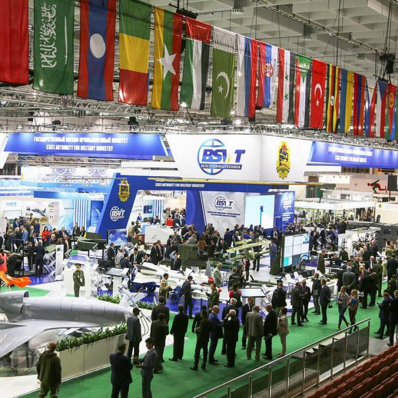 Military exhibition in Minsk MILEX 2019. May 18, 2019