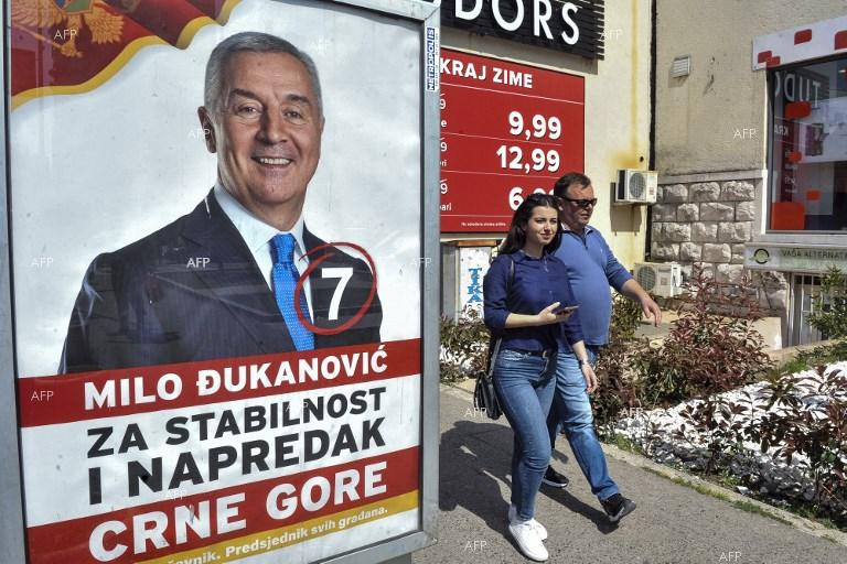 Montenegro presidential poll tests backing for European Union  membership