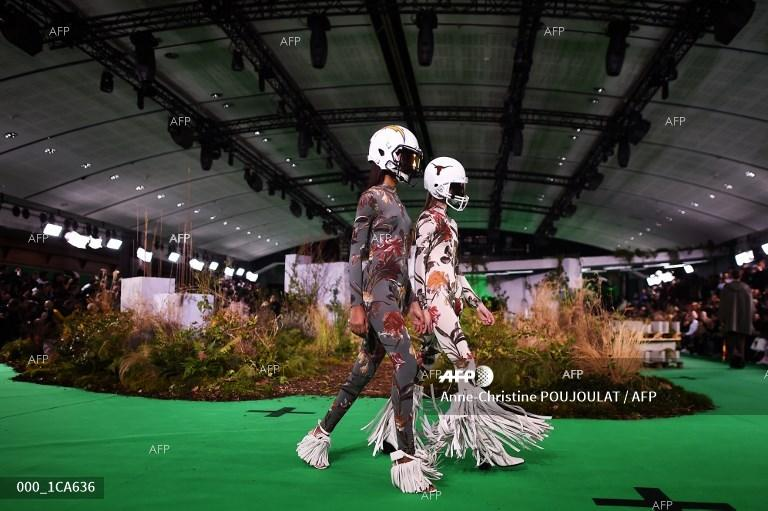 Fashion week. Men fashion. Paris. January 16, 2019;