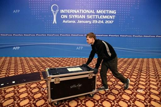 Astana readies to host conference on Syrian crisis. January 23, 2017.