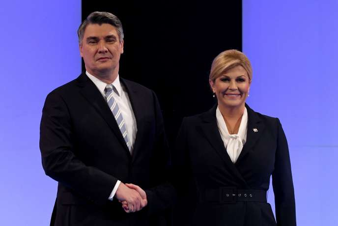 Second round of presidential election in Croatia. January 5, 2020