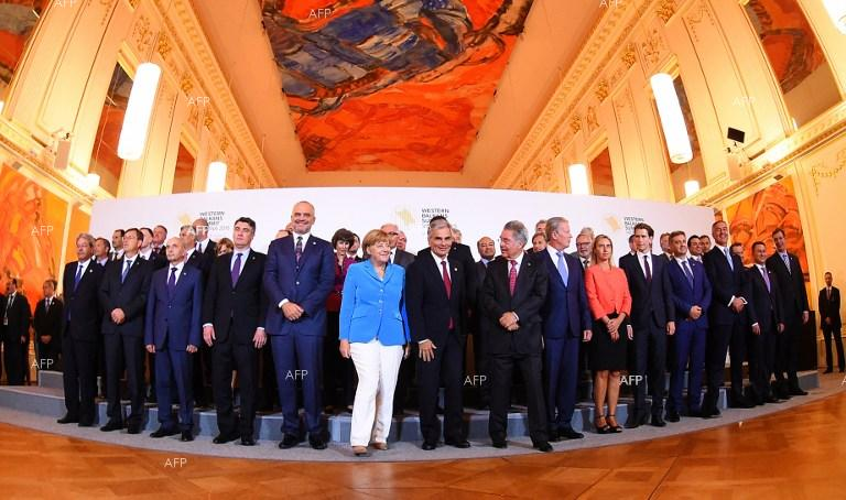 Western Balkans Summit in Vienna.