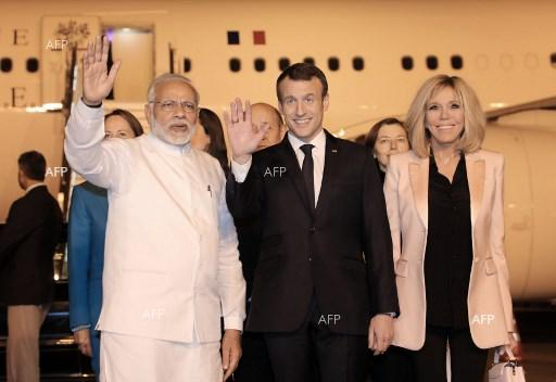 French President Emmanuel Macron on an official 3-day visit to India. March 10, 2018;